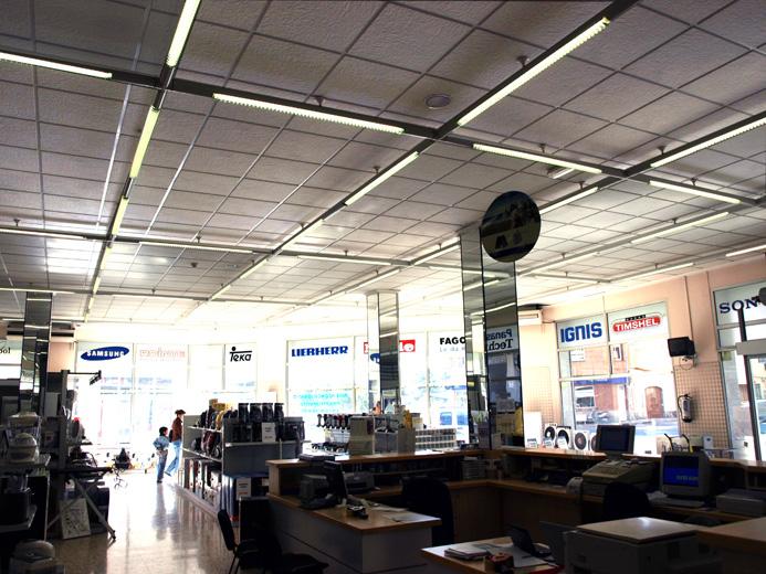 Techos registrables escayola decorativa tienda electrodomesticos - Escayola decorativa techo ...
