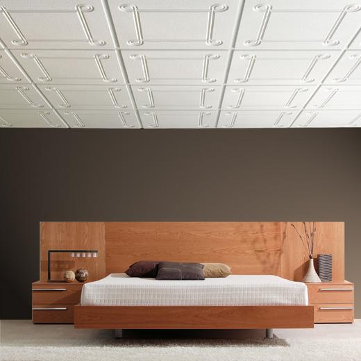 Falso techo placas escayola bioplac dormitorio - Poner falso techo ...