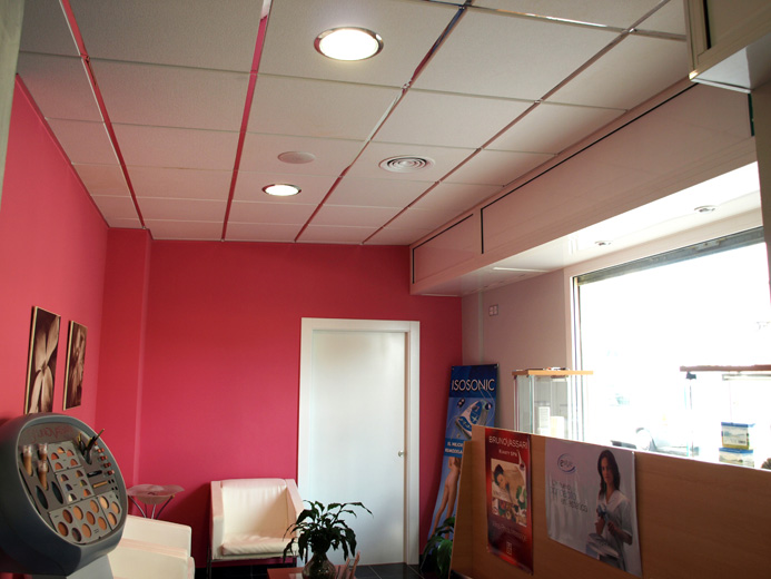 Falso techo paneles escayola bioplac esteticien - Falsos techos decorativos ...