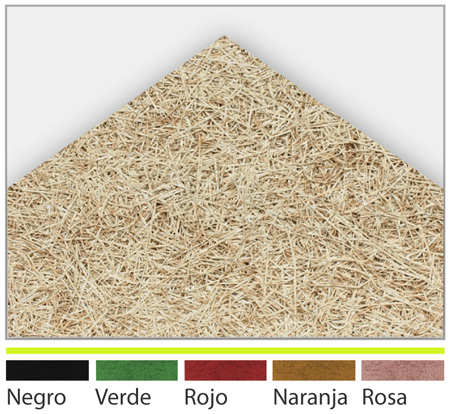 Falsos techos techos viruta madera bioplac - Techo desmontable madera ...